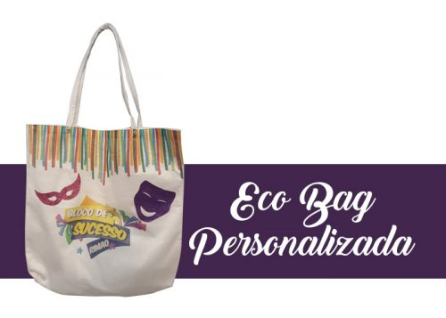 Kit de Carnaval - Eco Bag Personalizada