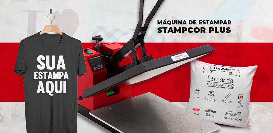 Máquina de Estampar Stampcor - Estampar Camiseta