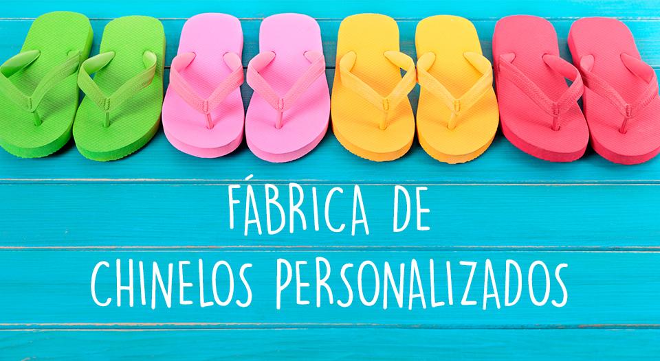 Fábrica de chinelos personalizados