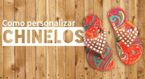 Como personalizar chinelos
