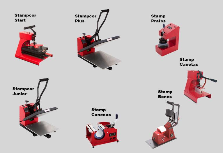 Sublimação: Máquinas de Estampar