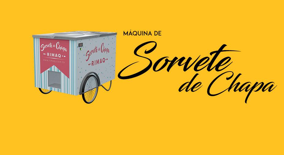 Máquina de Sorvete de Chapa Rimaq