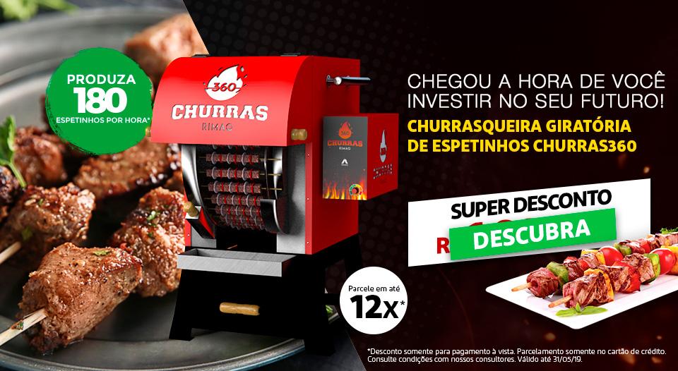 Máquina Churrasqueira Churras360 Rimaq
