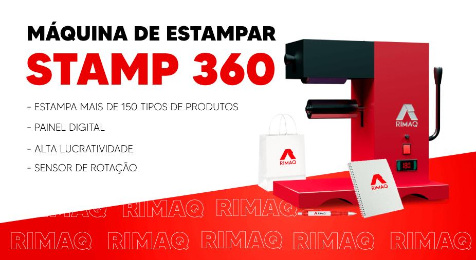 Máquina de estampar Stamp360