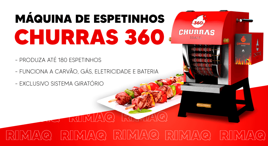 Máquina de Espetinhos churras360